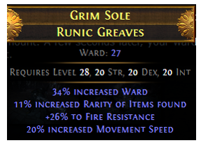 Grim Sole Runic Greaves