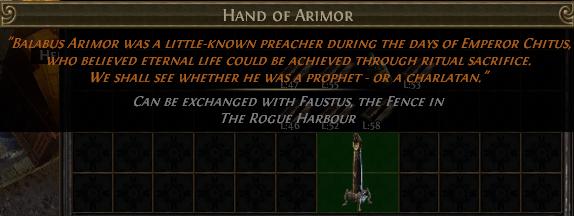Hand of Arimor