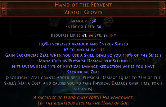 Hand of the Fervent