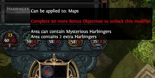 Harbinger Encounters Mods