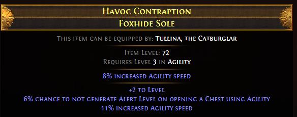 Havoc Contraption Foxhide Sole