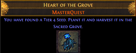 Heart of the Grove Master Quest