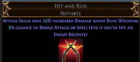 Hit and Run PoE