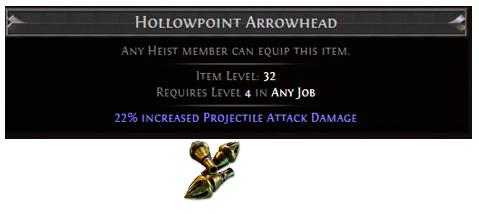 Hollowpoint Arrowhead