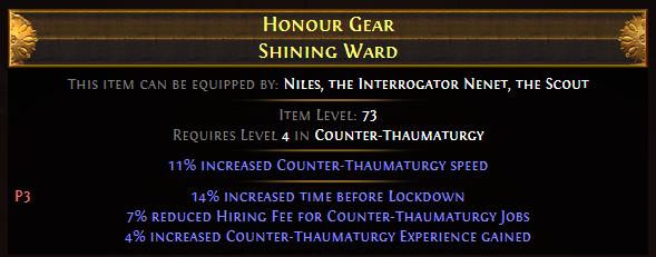 Honour Gear Shining Ward