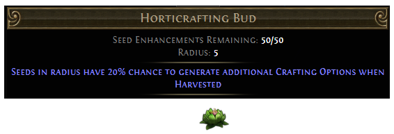 Horticrafting Bud