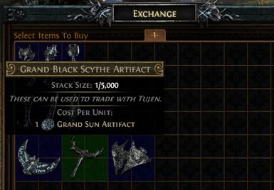 How to Grand Sun Artifact