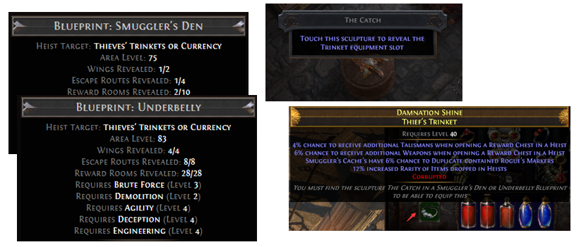 How to unlock Trinket slot