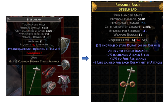 How to use Common Broken Circle Artifact