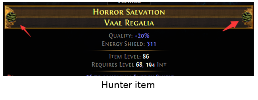 Hunter item