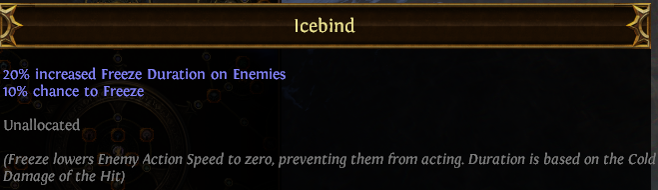 Icebind PoE