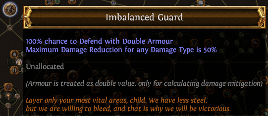 Imbalanced Guard PoE