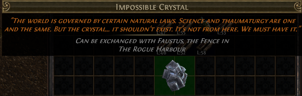 Impossible Crystal