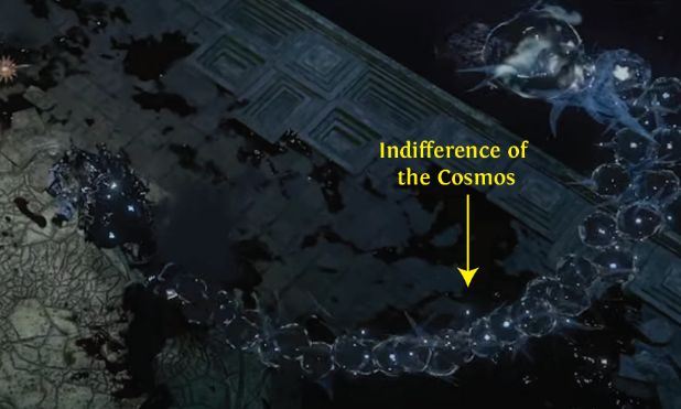 Indifference of the Cosmos PoE