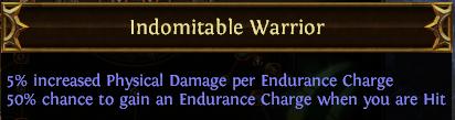 Indomitable Warrior PoE