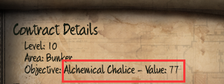 Initial Alchemical Chalice