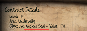 Initial Ancient Seal