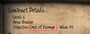 Initial Crest of Ezomyr