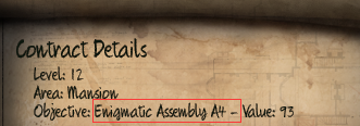 Initial Enigmatic Assembly A4