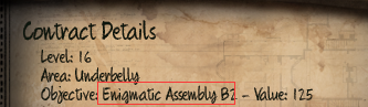 Initial Enigmatic Assembly B2