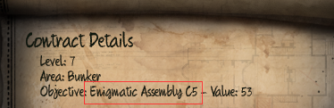 Initial Enigmatic Assembly C5