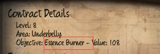 Initial Essence Burner