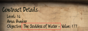 Initial The Goddess of Water