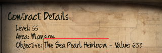 Initial The Sea Pearl Heirloom