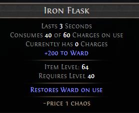 Iron Flask PoE