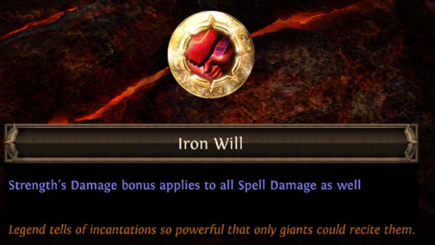 Iron Will Keystone PoE