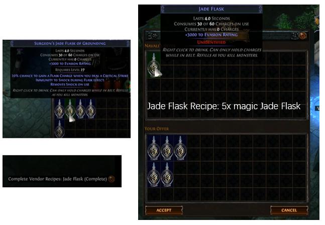 Jade Flask Vendor Recipe