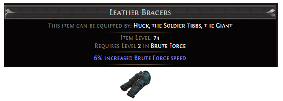 Leather Bracers
