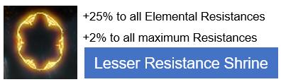 Lesser Resistance Shrine PoE