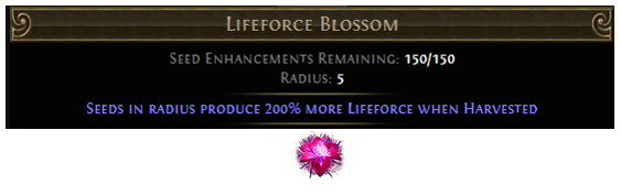 Lifeforce Blossom