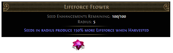 Lifeforce Flower