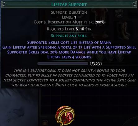 Lifetap Support PoE