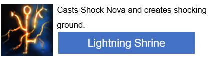 Lightning Shrine PoE