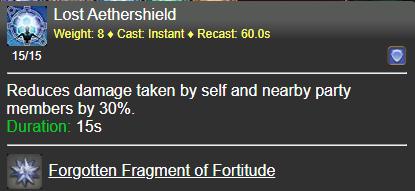 Lost Aethershield FFXIV