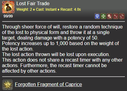 Lost Fair Trade FFXIV