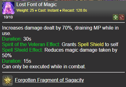 Lost Font of Magic FFXIV