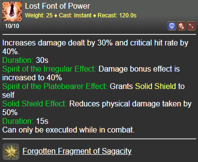 Lost Font of Power FFXIV