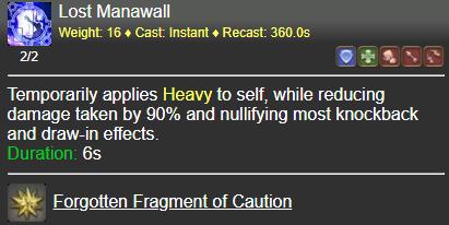 Lost Manawall FFXIV