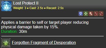 Lost Protect II FFXIV