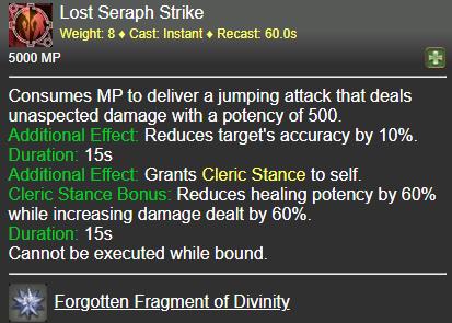 Lost Seraph Strike FFXIV