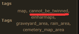 Maps cannot be twinned