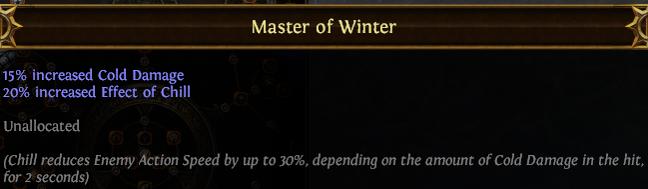 Master of Winter PoE