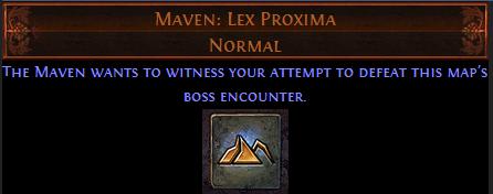 Maven: Lex Proxima