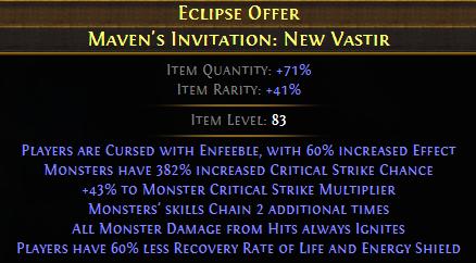 Maven's Invitation: New Vastir