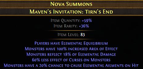 Maven's Invitation: Tirn's End