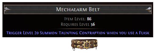 Mechalarm Belt